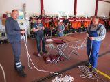 Überprüfung der Gerätschaften der Ortsfeuerwehren im Feuerwehrhaus Tarmstedt